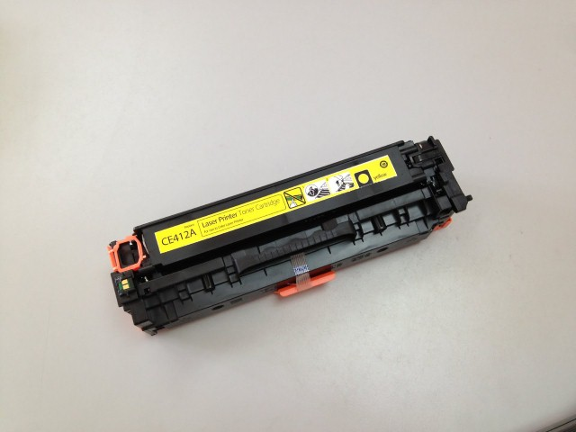 HP CE412A (Yellow)